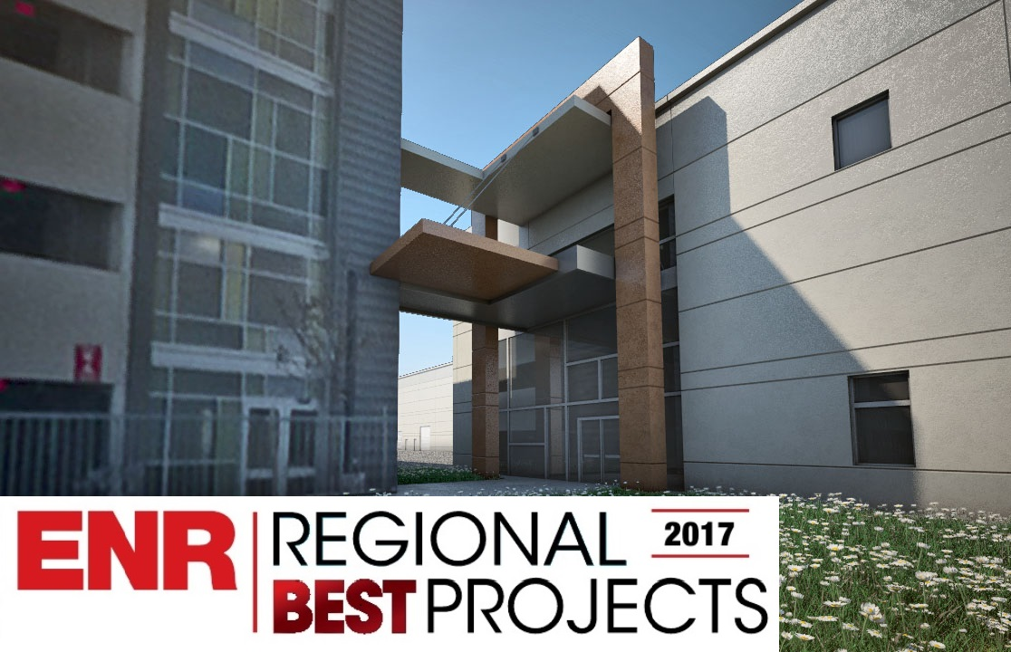 (MidAtlantic Region's Award of Merit in Government/Public Building category)