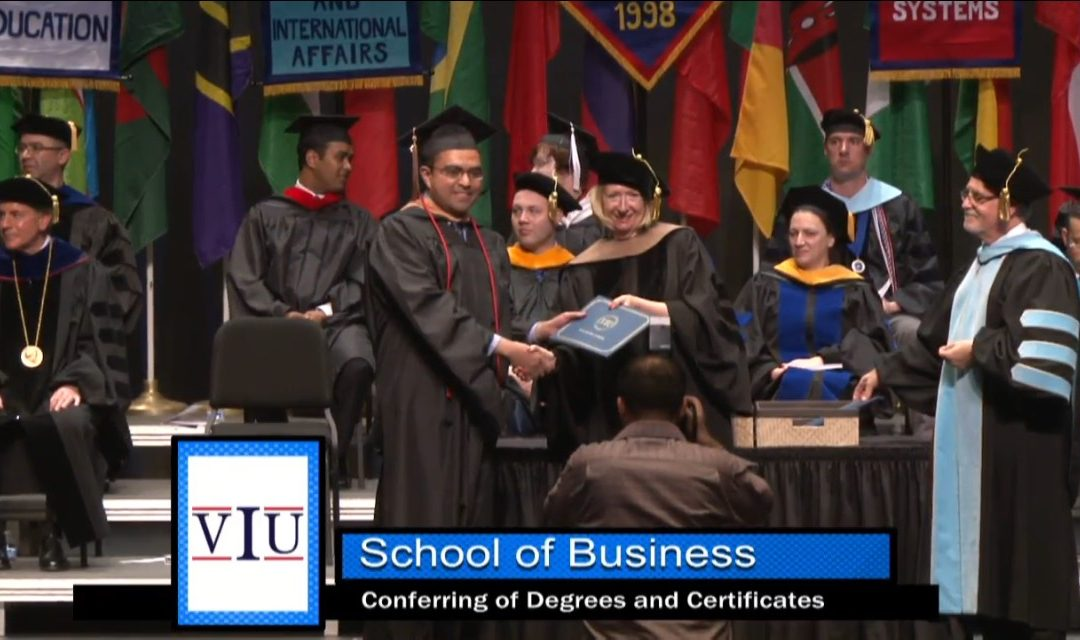 Wael's Graduation from School of Business